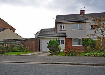 Thumbnail 3 bed semi-detached house for sale in Lowther Road, Millom, Cumbria