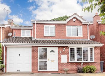 Thumbnail 4 bed detached house for sale in Trustin Crescent, Solihull, West Midlands