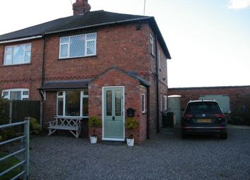 Thumbnail 3 bed semi-detached house for sale in Oakes Corner, Hatherton, Nantwich, Cheshire