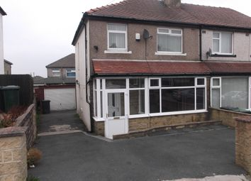 Thumbnail 1 bedroom semi-detached house to rent in Briardale Road, Bradford