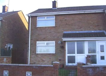 Thumbnail 2 bed semi-detached house for sale in Sidmouth Walk, Corby, Northamptonshire