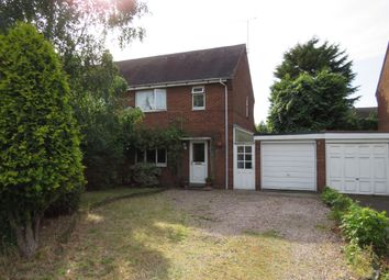 Thumbnail 3 bed end terrace house for sale in Cotswold Road, Branston, Burton-On-Trent