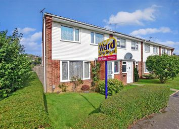 Thumbnail 3 bed end terrace house for sale in Belmont Road, Kennington, Ashford, Kent