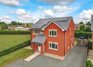 Thumbnail 4 bed detached house for sale in Llywelyn Close, Cilmery, Builth Wells