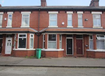 Thumbnail 3 bed terraced house to rent in Churchill Avenue, Whalley Range, Manchester