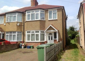 Thumbnail 3 bed semi-detached house to rent in Riverholme Drive, West Ewell, Epsom