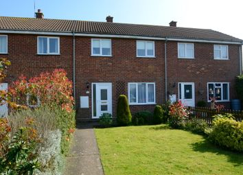 Thumbnail 3 bed terraced house for sale in The Glebe, Lawshall, Bury St. Edmunds
