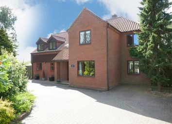 Thumbnail 4 bed detached house for sale in Burgate Lane, Framlingham Earl