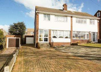 Thumbnail 3 bed semi-detached house for sale in Dering Crescent, Eastwood, Leigh-On-Sea