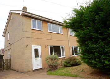 Thumbnail 3 bed semi-detached house for sale in Gresley Avenue, Doncaster