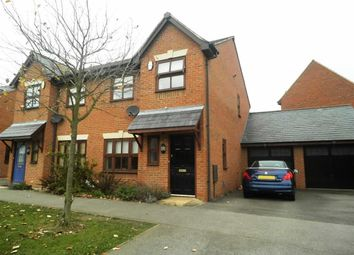 Thumbnail 3 bed semi-detached house to rent in Lilleshall Avenue, Monkston, Milton Keynes