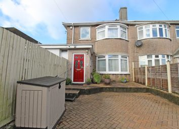 3 bed semi-detached house for sale in Randwick Park Road, Plymstock, Plymouth, Devon PL9