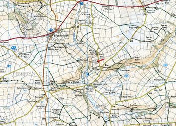 Thumbnail Land for sale in 5.5 Acres Land Formerly Part Of, Waun, Rhydlewis, Llandysul, Ceredigion
