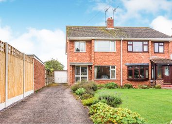 Thumbnail 3 bed semi-detached house for sale in Church Lane, Nuneaton