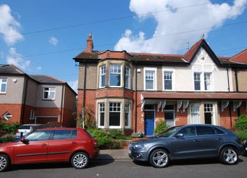 Thumbnail 5 bedroom terraced house for sale in Roseworth Crescent, Gosforth, Newcastle Upon Tyne