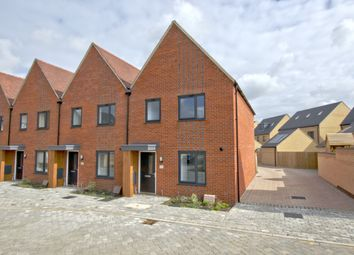 Thumbnail 3 bedroom end terrace house for sale in Woodpecker Close, Northstowe, Cambridge