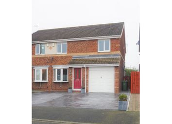 3 bed semi-detached house for sale in Larchwood Drive, Ashington NE63