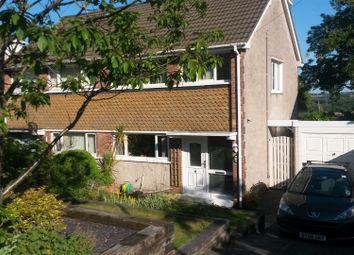 Thumbnail 4 bedroom semi-detached house for sale in Gwysfa Road, Ynystawe, Swansea
