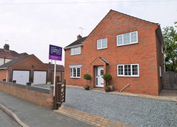 Thumbnail 4 bed detached house for sale in Vicar Lane, Eastrington, Goole