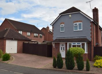 Thumbnail 3 bed detached house for sale in Cranesbill Drive, Broomhall, Worcester