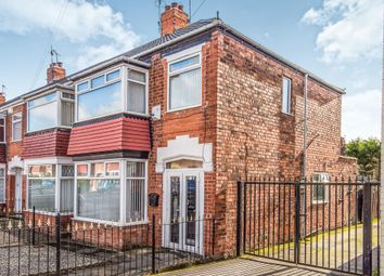 Thumbnail 3 bedroom end terrace house for sale in Mead Street, Hull