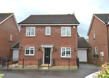 Thumbnail 4 bed detached house for sale in Abbey Close, Shepshed, Leicestershire