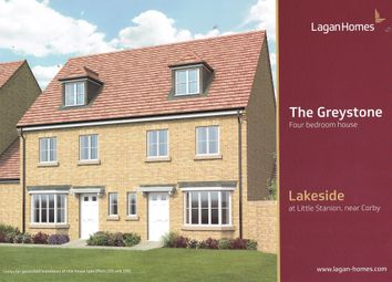 Thumbnail 4 bed semi-detached house for sale in Malvern Walk, Off Roman Road, Little Stanion, Corby