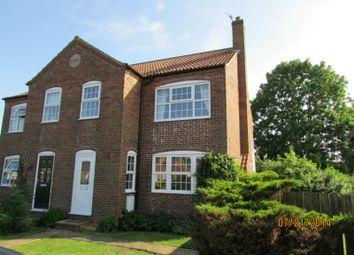 Thumbnail 3 bedroom semi-detached house to rent in Middlefield Close, Weaverthorpe