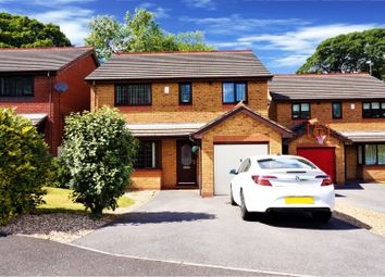 Thumbnail 4 bed detached house for sale in Wilkinson Drive, Wrexham