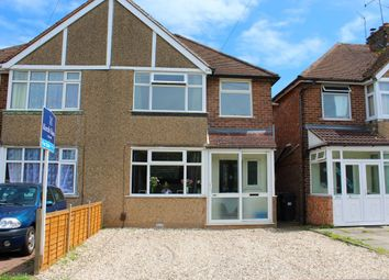 Thumbnail 3 bed semi-detached house for sale in Tachbrook Road, Whitnash, Leamington Spa