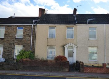 Thumbnail 4 bed terraced house for sale in Briton Ferry Road, Melyn, Neath .