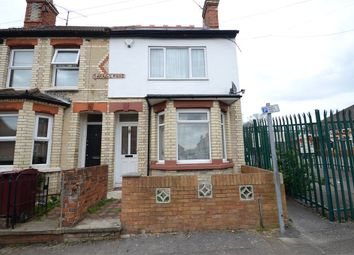 Thumbnail 3 bedroom end terrace house for sale in Surrey Road, Reading, Berkshire