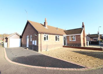 Thumbnail 1 bed semi-detached bungalow for sale in Brambles Close, Spixworth, Norwich