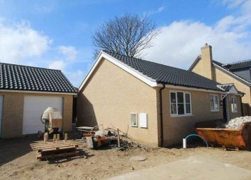 Thumbnail 2 bed detached bungalow for sale in Beccles Road, Bradwell, Great Yarmouth