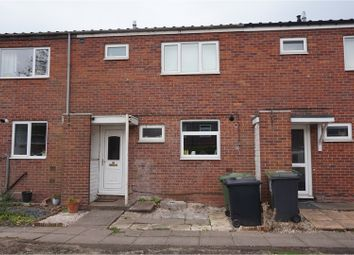 Thumbnail 3 bed terraced house for sale in Hampton Close, Redditch