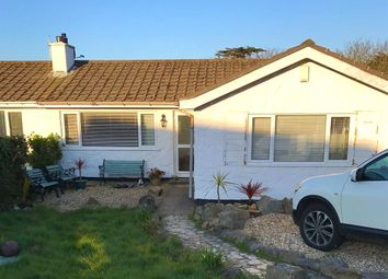 Thumbnail 3 bed semi-detached bungalow for sale in Menhyr Drive, Carbis Bay, St. Ives, Cornwall