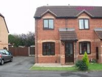 Thumbnail 2 bed end terrace house to rent in Rosemount Drive, Scunthorpe