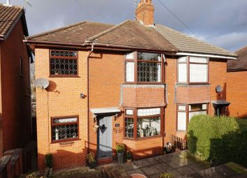 Thumbnail 2 bed semi-detached house for sale in Sutherland Avenue, Dresden, Stoke On Trent, Staffordshire