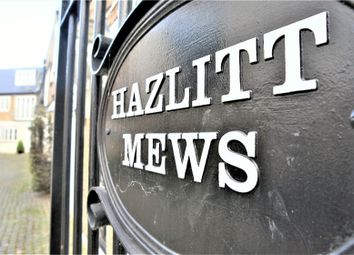 Thumbnail 3 bed mews house to rent in Hazlitt Mews, London
