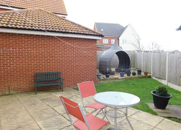 Thumbnail 3 bed detached house for sale in Song Thrush Close, Stowmarket
