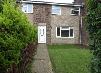 Thumbnail 3 bedroom terraced house to rent in Hampden Way, Eynesbury, St. Neots