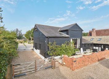 Thumbnail 3 bed barn conversion for sale in Ashen, Sudbury, Suffolk
