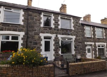 Thumbnail 3 bed terraced house for sale in Arvonia Terrace, Criccieth, Gwynedd