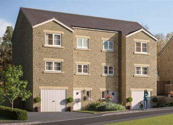 Thumbnail 4 bed semi-detached house for sale in Buckton View, Micklehurst, Mossley