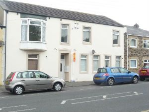 Thumbnail 1 bed flat to rent in Front Street Leadgate, Consett