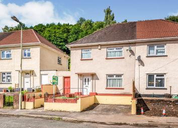 Thumbnail 3 bed semi-detached house for sale in Cefn Lane, Glyncoch, Pontypridd