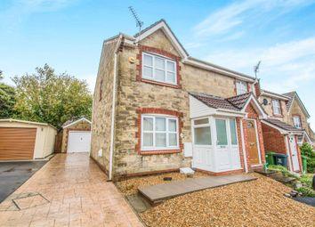Thumbnail 3 bed semi-detached house for sale in Sindercombe Close, Pontprennau, Cardiff