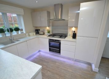 Thumbnail 4 bed detached house for sale in Windlass Drive, South Wigston, Leicester