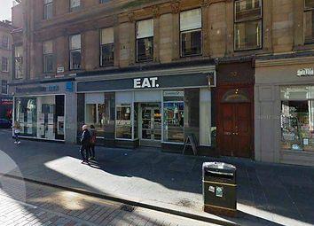 Thumbnail Retail premises to let in Gordon Street, Glasgow