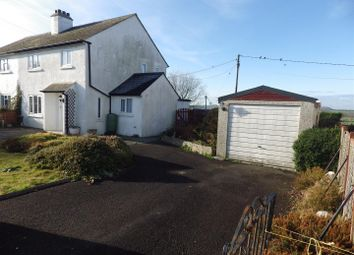 Thumbnail 3 bed semi-detached house for sale in Pinslow Cross, St Giles On The Heath, Launceston